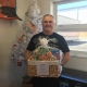 The lucky Goodie Basket winner – Kevin Gallagher