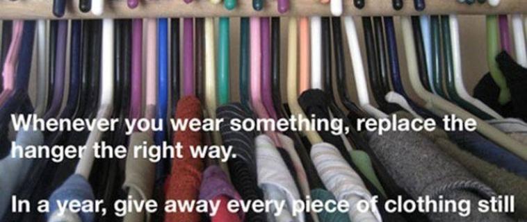 Handy Closet Tip
